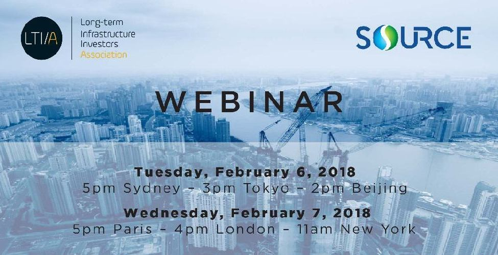 Long-Term Infrastructure Investors Association-SIF Webinar on Infrastructure Projects Preparation