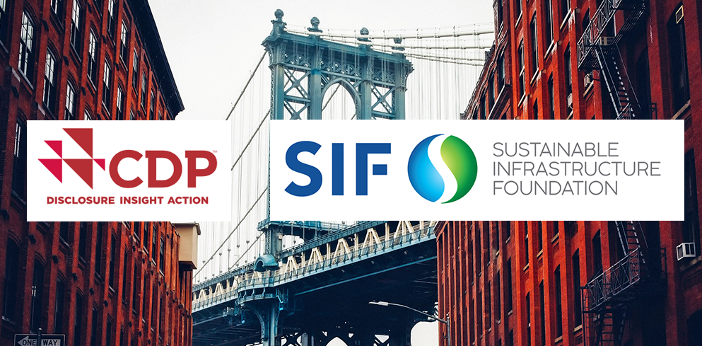 SIF and CDP announce collaboration to close infrastructure investment gap