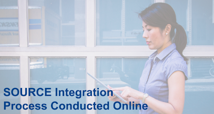 SOURCE Integration Process Conducted Online